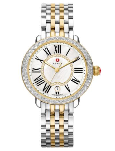 Michele Serein 16 Two-Tone Diamond, Diamond Dial MW21B01C5963