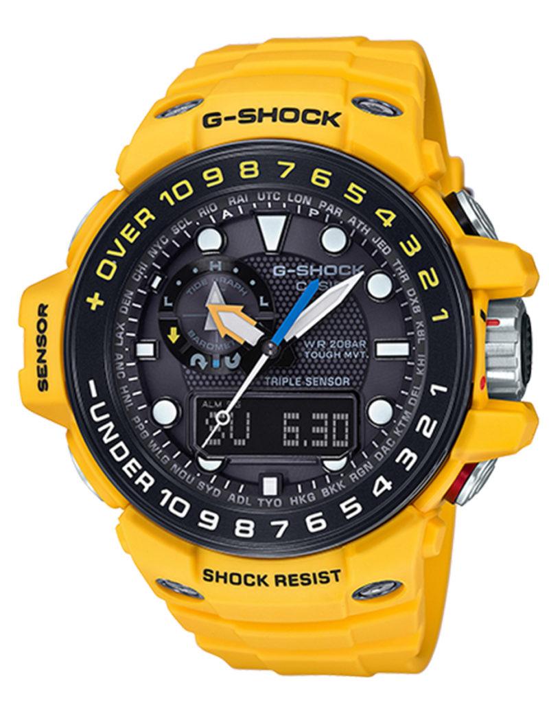 Casio G-Shock Yellow Gulfmaster GWN1000H-9A