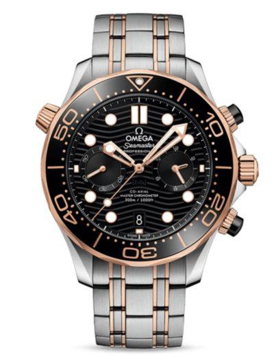 Omega Seamaster Diver 300M Co-Axial Master Chronometer Chronograph 210.20.44.51.01.001